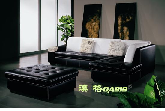 别墅家具厚皮沙发HP-0106批发