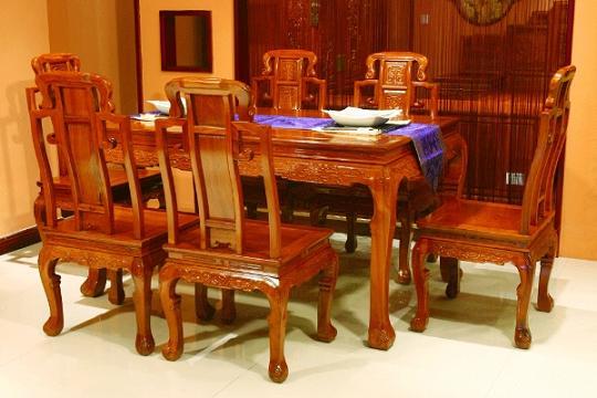 红木家具餐桌图片_红木家具餐桌图片大全
