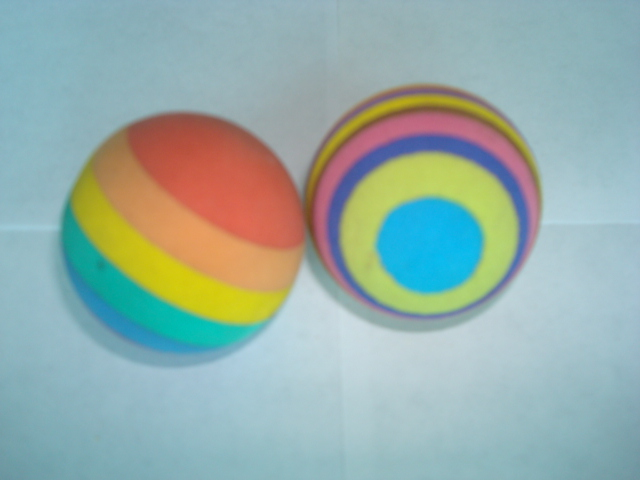 EVA彩虹发泡球