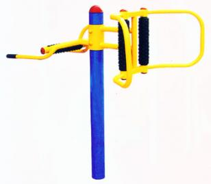 室外健身路径腰背按摩器图片