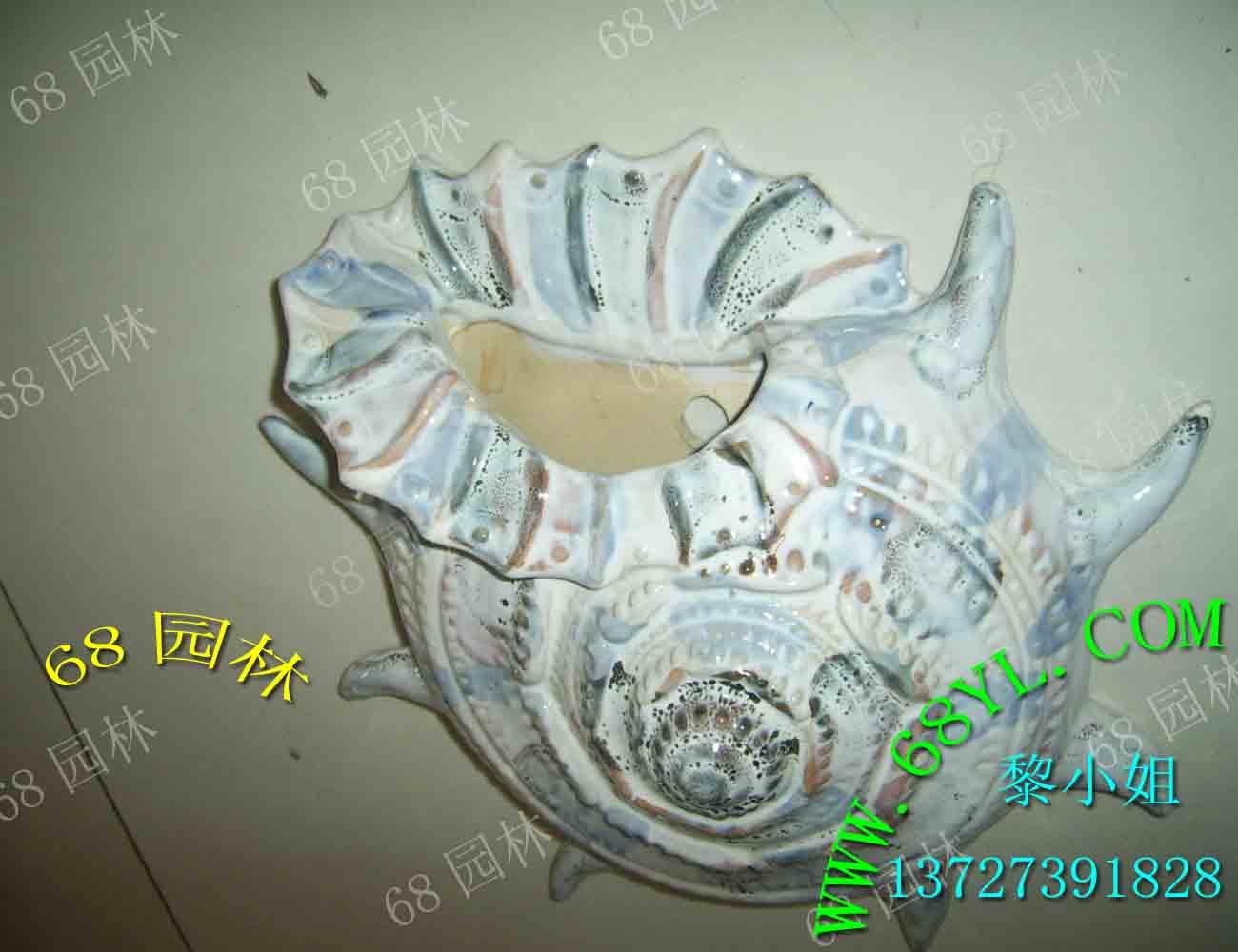 供应陶瓷挂件种花批发