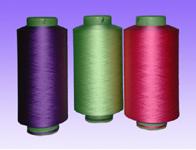 供应有色低弹丝+涤纶低高弹色丝 有色低弹丝网络丝