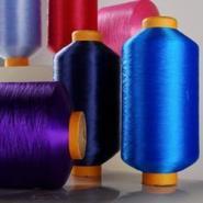 50D窗帘布用加捻涤纶有色单丝图片