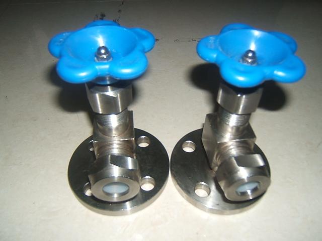 不锈钢考克,液位计阀(x49w-16p),卫生级考克图片