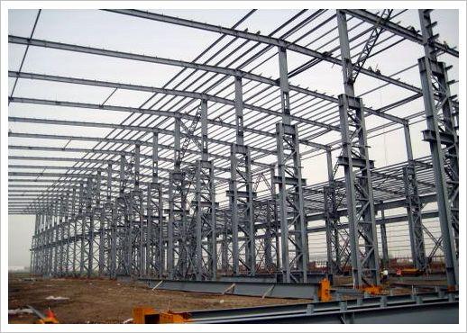 钢结构厂房心图片