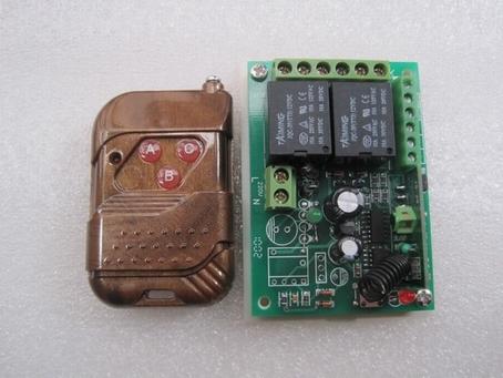 批发12伏带手动带限位电机正反转遥控控制器图片