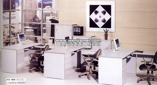墙角圆角书桌设计图展示