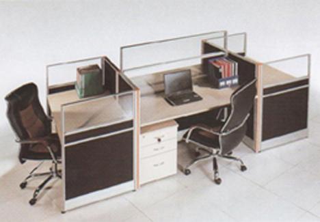 带屏风办公桌价格,高档带屏风办公桌价格图片