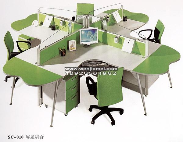 办公桌屏风报价 效果图图片尺寸价格批发定做