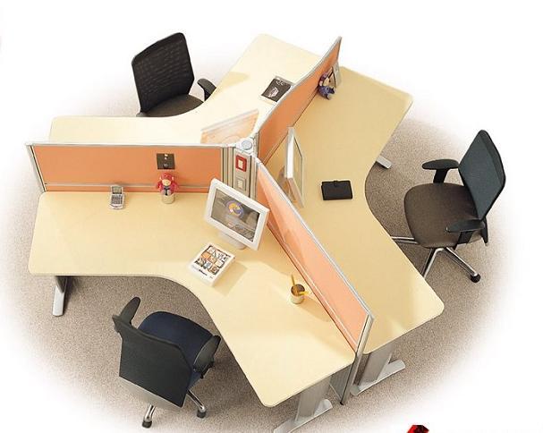 带屏风隔断办公桌图片,厂家直销带屏风隔断办公桌图片图片