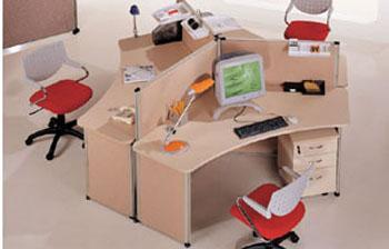 定做带屏风隔断办公台,定做带屏风隔断办公台厂家地址图片