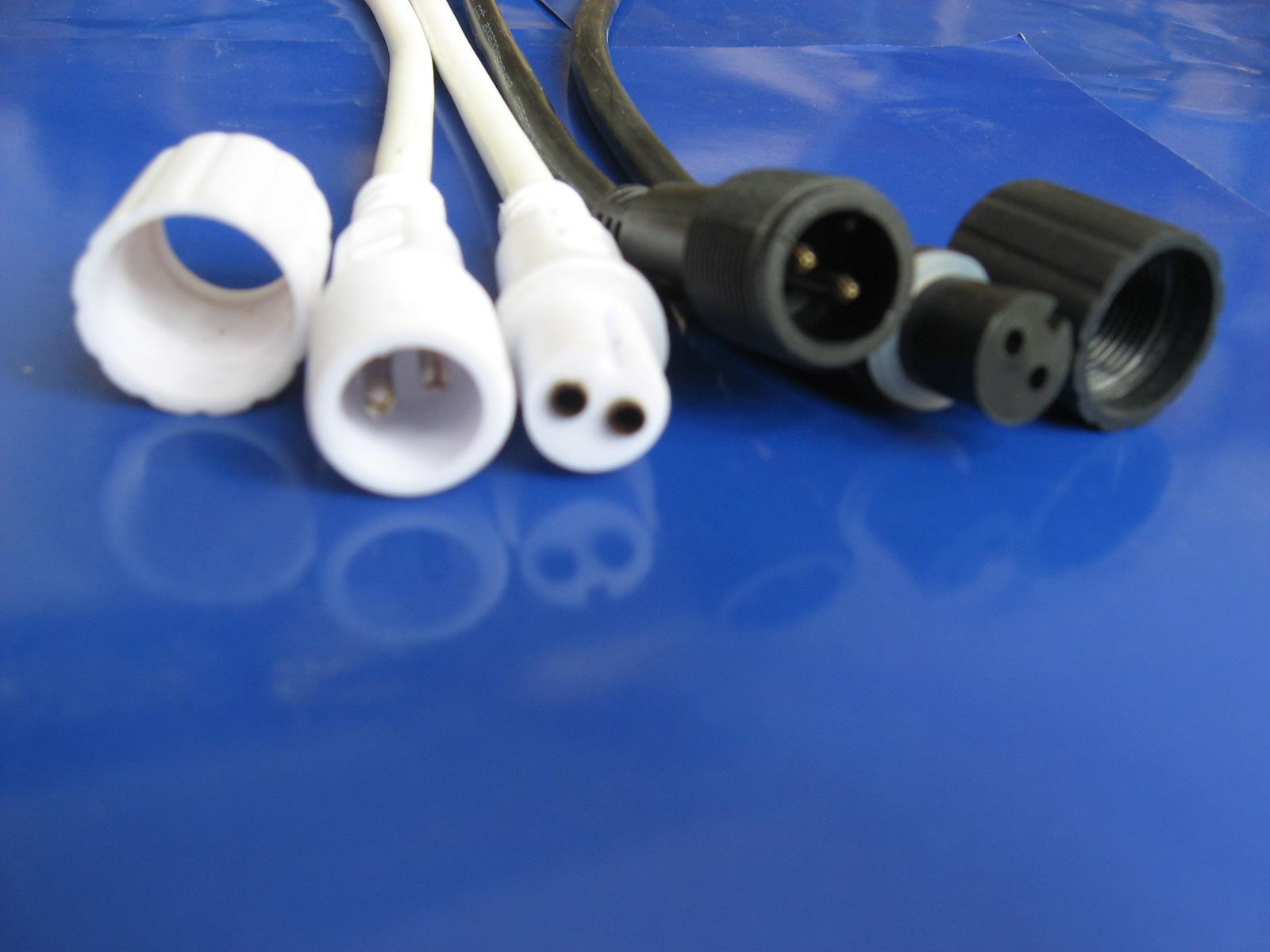 供应LED灯饰防水连接器LED灯饰防水连接器系列