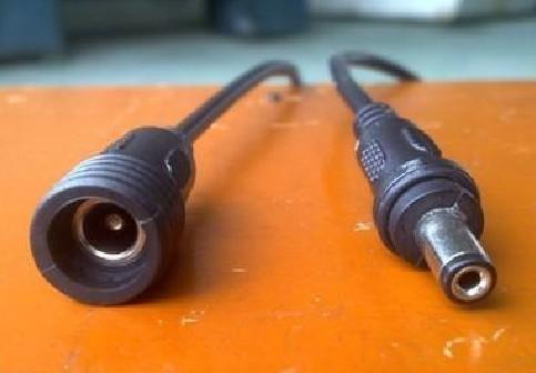 供应LED防水DC插头