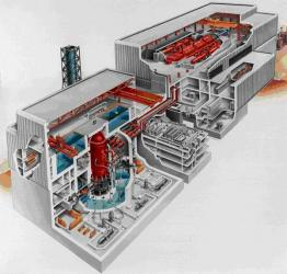 核电培训模型产品描述:   核电站图片
