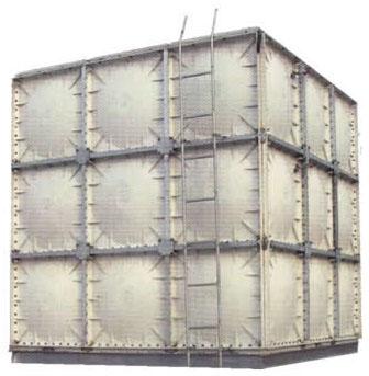 供应山西玻璃钢水箱价格图片