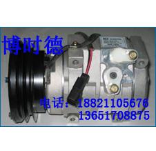 供应现代R375挖掘机空调压缩机配件