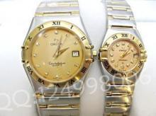 供应欧米茄星座对表 1112.10.00间金情侣表情侣手表
