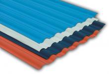 电镀车间耐酸碱盐瓦-彩钢板替代产品