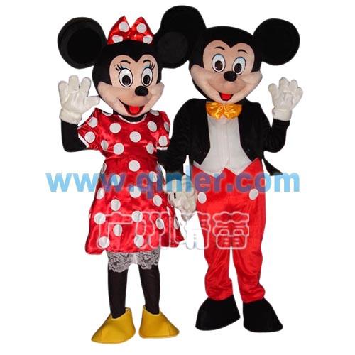 供应米老鼠迪斯尼卡通服装,动漫人偶服装,卡通气模,卡通人偶服装