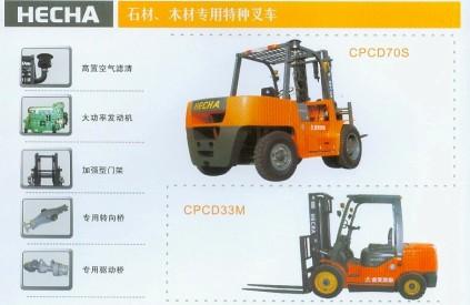 供应石材 木材专用特种叉车