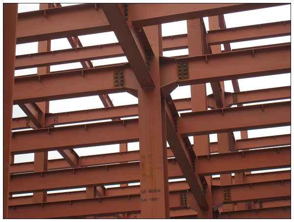 钢结构工程 钢结构房屋图片