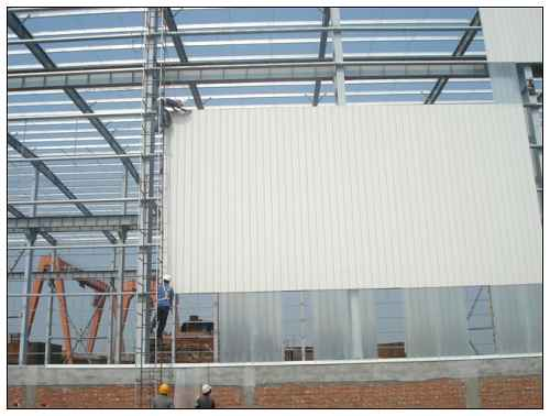 钢结构住宅 钢结构柱图片