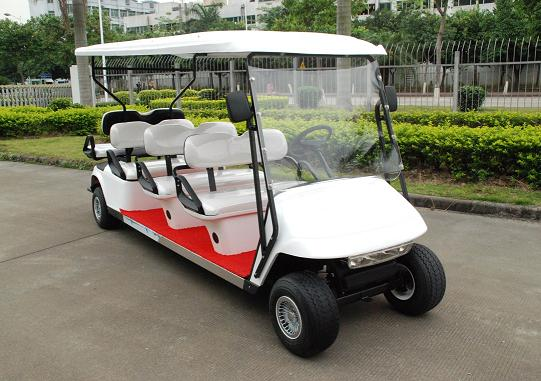 供应电动高尔夫球车图片