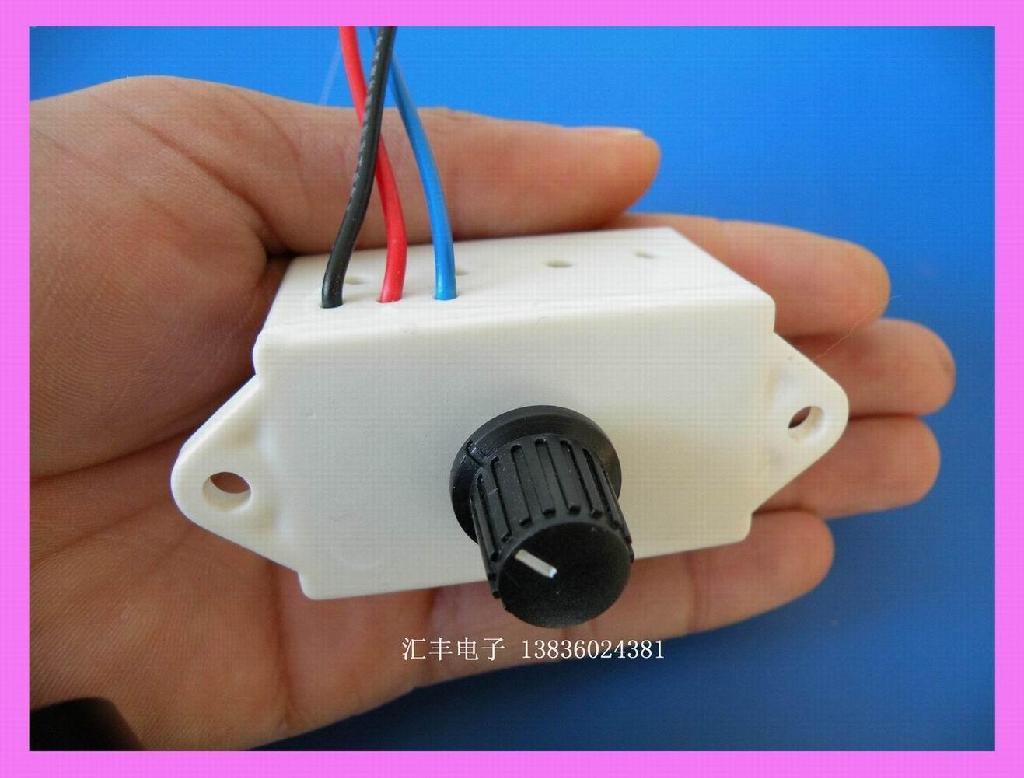 -1011型<汽车暖风机电子调速开关>的器件是采用进口日本电子公司生高清图片