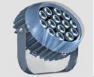圆形单颗大功率LED投光灯12W图片
