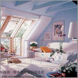 供应斜屋顶窗欧式木门窗