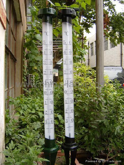 花园温度计