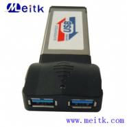 笔记本USB3点0扩展卡PCI图片