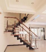 绍兴钢木楼梯图片