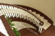 绍兴实木楼梯图片