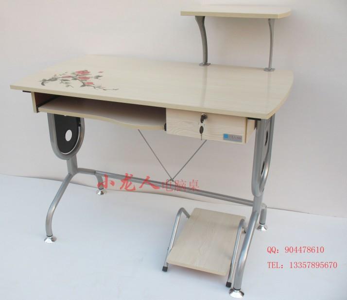 供应新款彩绘钢琴面电脑桌hx-018