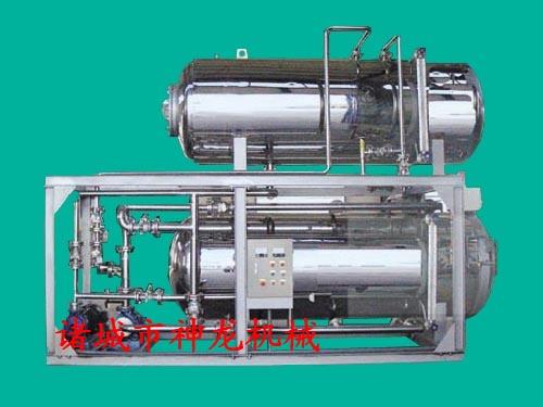 供应热水喷淋式电汽两用杀菌锅15006365975