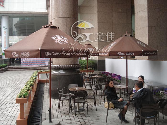 咖啡厅室外手绘
