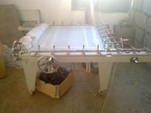 义乌拉网机,绷网机,制版设备机械式拉网机