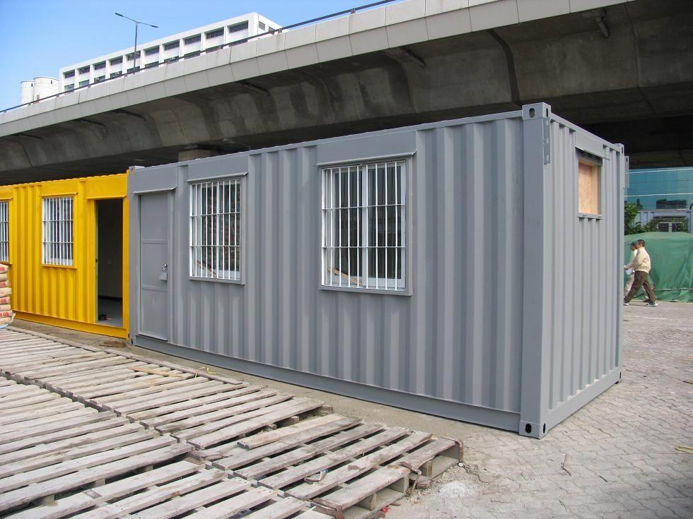 二手集装箱活动房,集装箱宿舍办公室改装图片