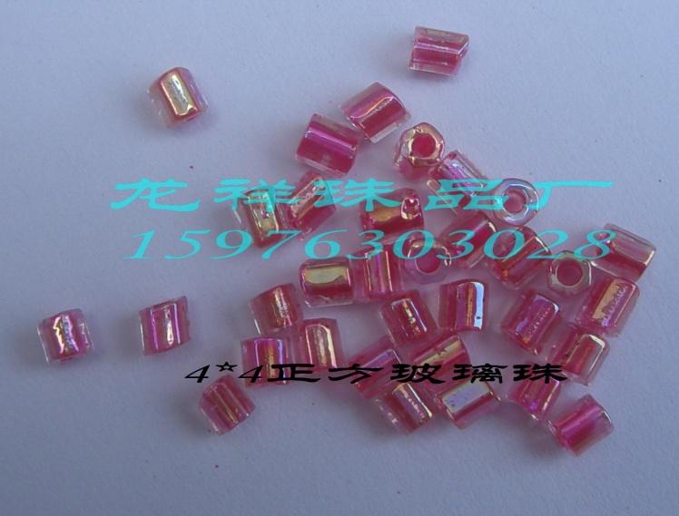 玻璃珠图片 玻璃珠样板图 44四方玻璃珠 龙祥珠品厂
