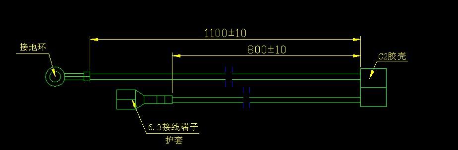 内接线排线端子线电源线图片