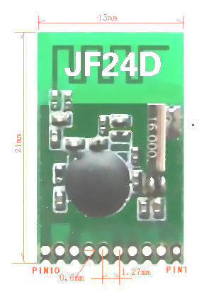 2.4G无线收发模块JF24D批发