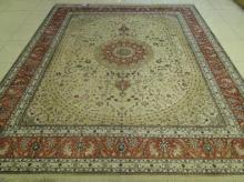 供应中国手工真丝地毯
