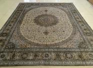 波斯经典真丝地毯图片