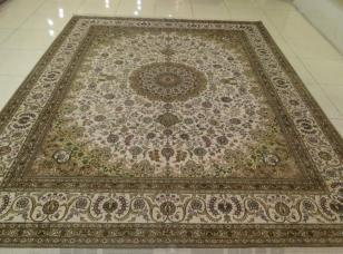 地毯手工真丝图片
