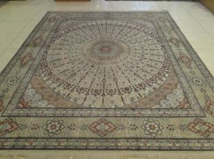 真丝地毯图片