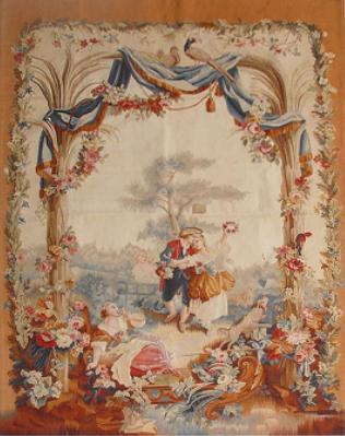 供应手工羊毛艺术挂毯