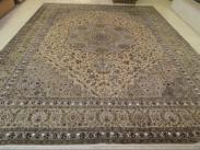 手工编织丝绸地毯图片