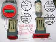 订做日期印章IQCPASS印章图片
