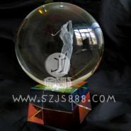 水晶球光面水晶球内雕水晶球内雕工图片